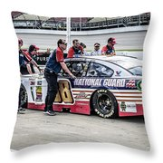 A Pust To Win Throw Pillow