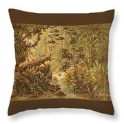 A Quaint Detailing Of The Most Beautiful Tropical Country Venezuela Throw Pillow