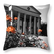 A Quaint Southern Town Throw Pillow