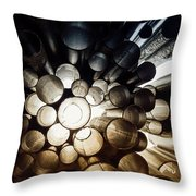 A Question Of Perspective On Sibelius Monument Throw Pillow