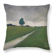 A Quiet Afternoon  Throw Pillow by Vesna Antic
