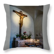 A Quiet Moment With God Throw Pillow
