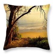 A Quiet Place 21f Throw Pillow