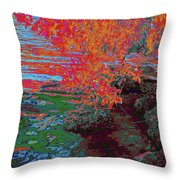 A Quiet Place 5 Throw Pillow