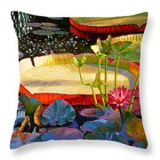 A Quiet Summer Morning Throw Pillow