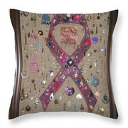 A Ragged Tribute Throw Pillow