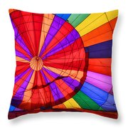 Temecula, Ca - A Rainbow Of Colors Throw Pillow
