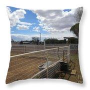 A Ranch Scene Throw Pillow