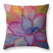 A Reason For Being Throw Pillow by Sandi Whetzel
