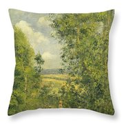 A Rest In The Meadow Throw Pillow
