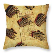 A Return To Old London Throw Pillow