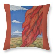 A Ristra On A Breeze Throw Pillow