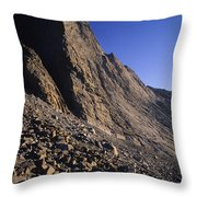 A Rock Face On Cloud Peak In The Big Throw Pillow