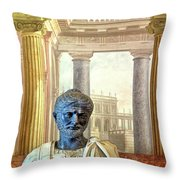 A Roman General Throw Pillow