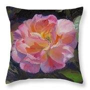 A Rose For Aunt Rosie Throw Pillow