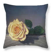 A Rose For The Little Lady Throw Pillow