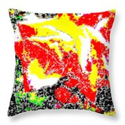 A Rose Is 2 Throw Pillow