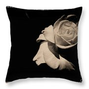 A Rose Is But A Rose  Throw Pillow