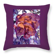 A Rose Of Red Throw Pillow