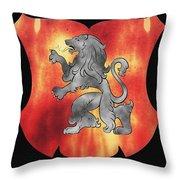 a Royal Crest Throw Pillow