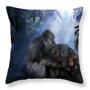 A Sacred Love Throw Pillow