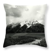 A Salute To Ansel Adams Part I Throw Pillow