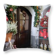 A Salzburg Christmas Throw Pillow
