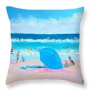 A Sea Breeze Throw Pillow
