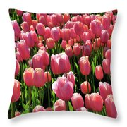 A Sea Of Coral Throw Pillow