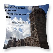 A Second Thought Throw Pillow