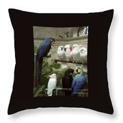 A Select Committee Throw Pillow