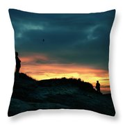 A Sense Of Loss Throw Pillow