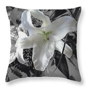 A Sense Of Purity Throw Pillow