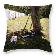 A Shady Retreat 1812 Throw Pillow