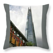 A Shard Day's Night Throw Pillow