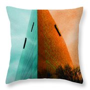 A Sharp Edge 2 And 3 - Summer And Autumn Throw Pillow