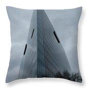 A Sharp Edge 4 - Winter Throw Pillow