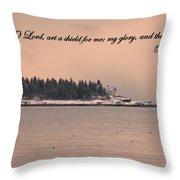 A Sheild Throw Pillow