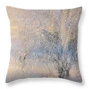 A Shimmering Light Throw Pillow