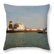 A Ships Guide Throw Pillow