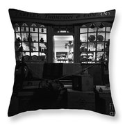 A Shopkeeper Throw Pillow
