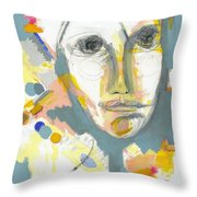 A Shrewd Woman Throw Pillow