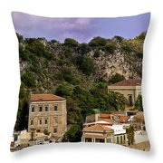 A Sicily View Throw Pillow
