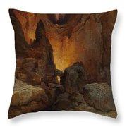A Side Canyon, Grand Canyon Of Arizona Throw Pillow