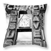 A Sign From Above Jesus Saves Throw Pillow