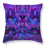 A Simple Kiss From Madness Throw Pillow