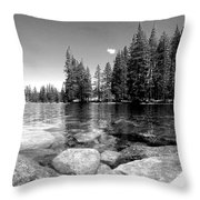 A Skipping Rock Away Throw Pillow
