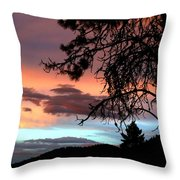 A Sky To Behold Throw Pillow