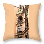 A Slice Of Old Vienna Throw Pillow