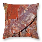 A Slice Of Time Throw Pillow